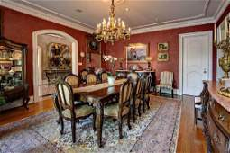 Provincial Louis XV Style Carved Dining Set
