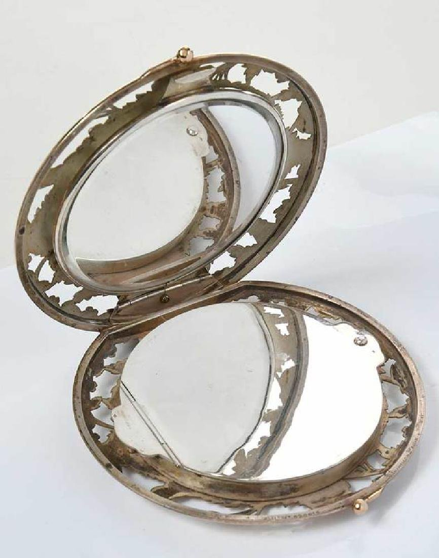 Boucheron Silver Powder Compact - 5