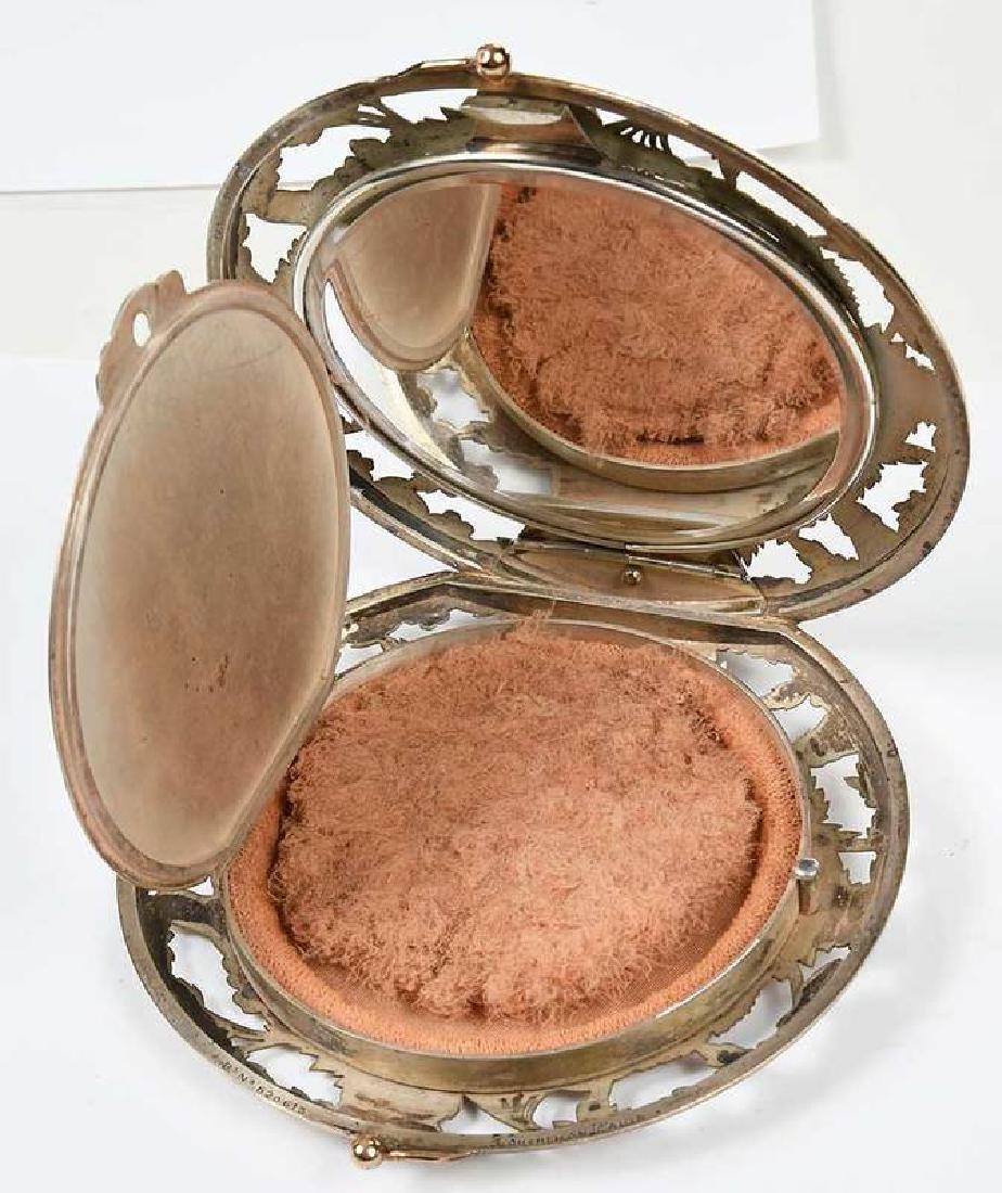 Boucheron Silver Powder Compact - 6