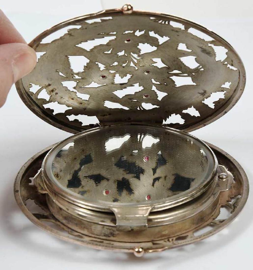 Boucheron Silver Powder Compact - 7