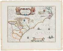 Willem Janszoon Blaeu Virginia & Florida Map