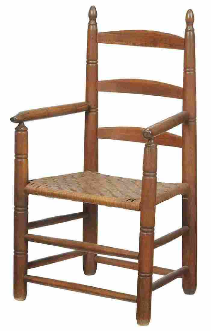 Early North Carolina Turned Great Chair