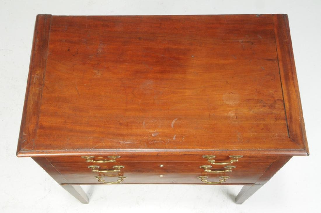 Southern Federal Inlaid Mahogany Silver Chest - 3