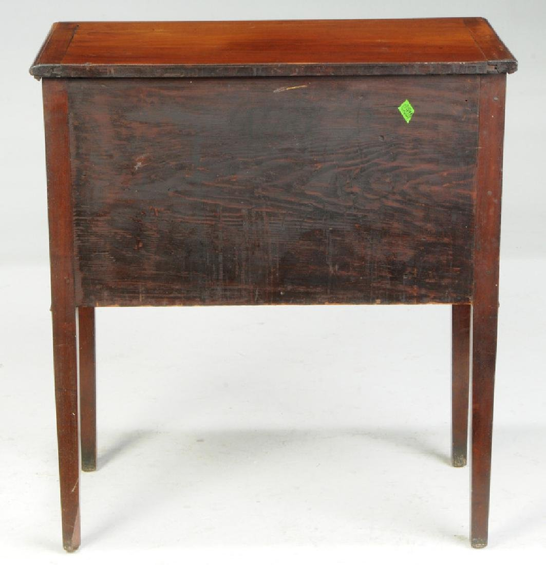 Southern Federal Inlaid Mahogany Silver Chest - 5