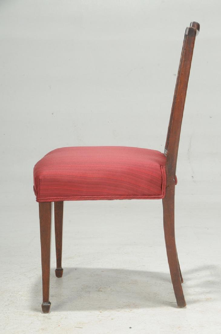 American Federal Carved Mahogany Side Chair - 3