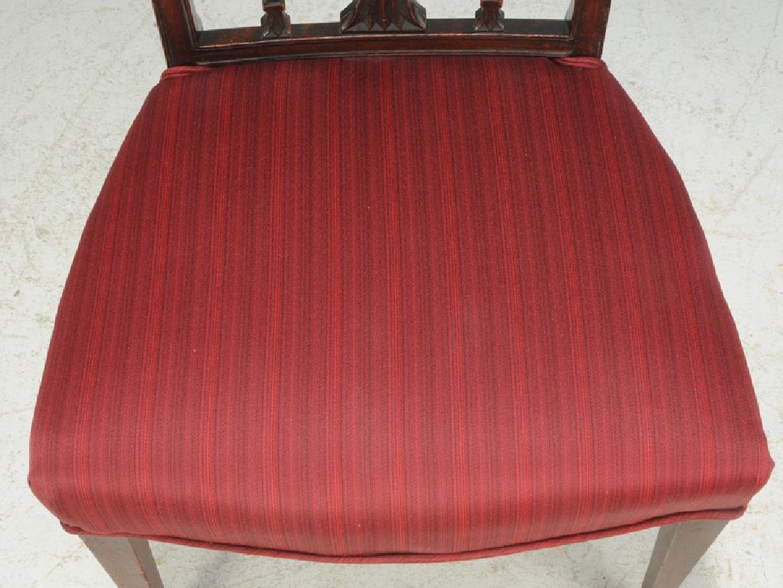 American Federal Carved Mahogany Side Chair - 5