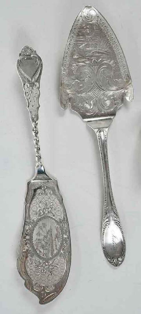 Twenty Pieces Silver Flatware - 4