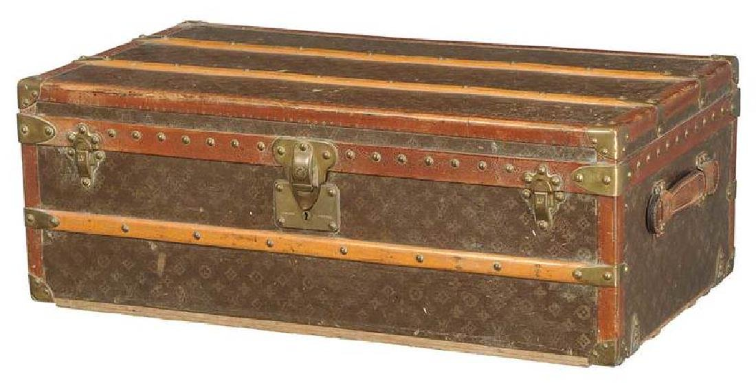 Vintage Louis Vuitton Steamer Trunk