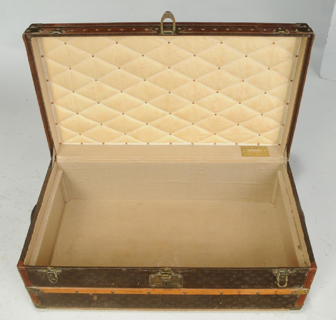 Vintage Louis Vuitton Steamer Trunk - 2