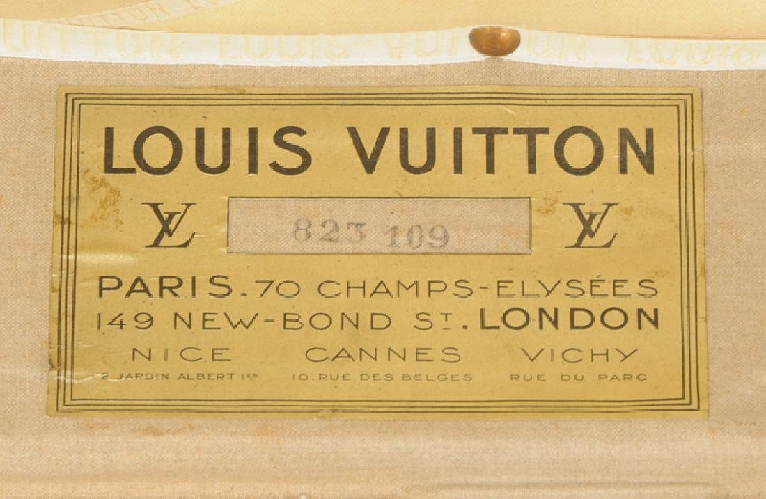 Vintage Louis Vuitton Steamer Trunk - 3
