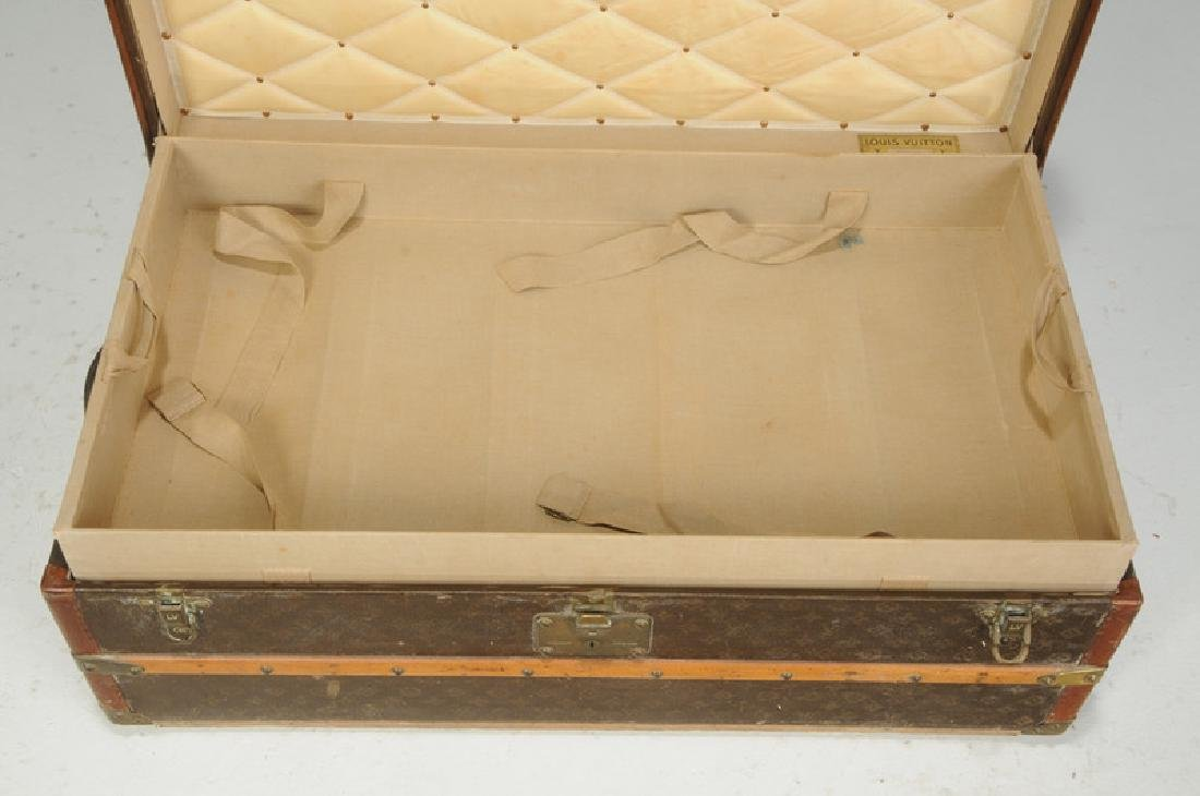 Vintage Louis Vuitton Steamer Trunk - 4