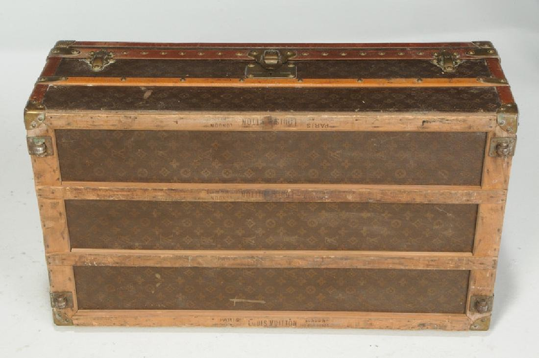 Vintage Louis Vuitton Steamer Trunk - 6