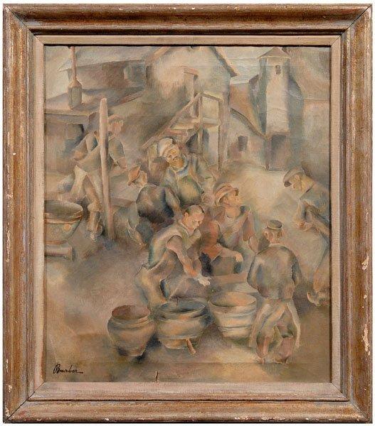9: John Barber painting