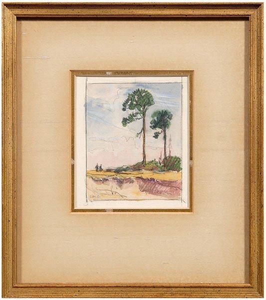 14: Christopher Murphy, Jr. watercolor