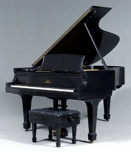21: Steinway & Sons grand piano,