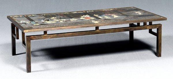 24: Phillip, Kelvin LaVerne coffee table,