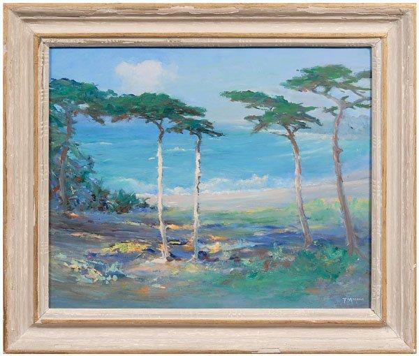 26: Frank M. Moore California painting
