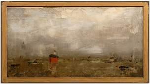 439 Painting signed P Nauen