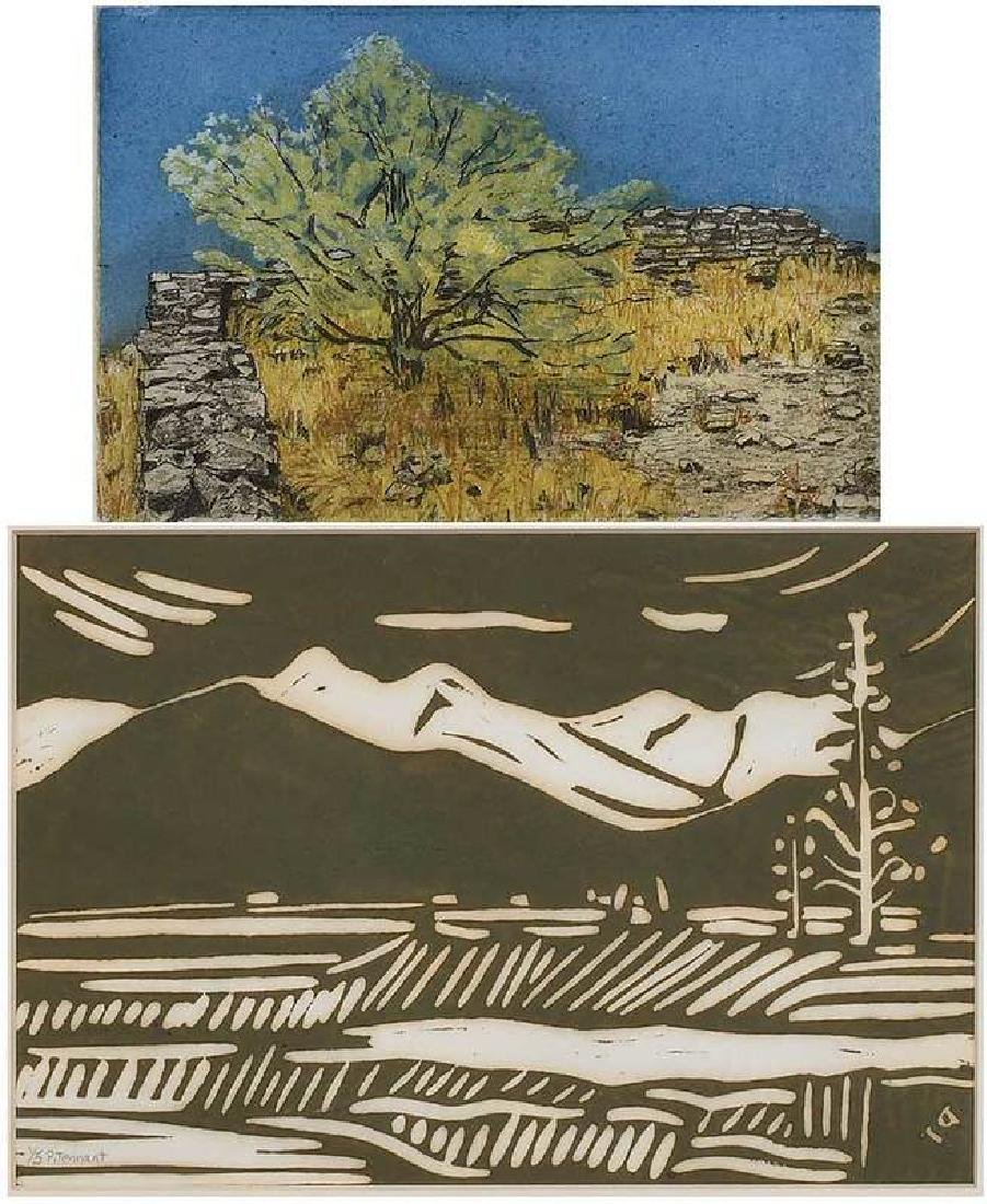 Two American Works on Paper