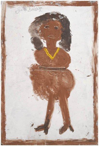 14: Jimmie Lee Sudduth painting
