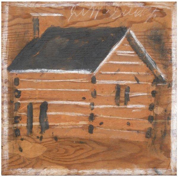 15: Jimmie Lee Sudduth painting