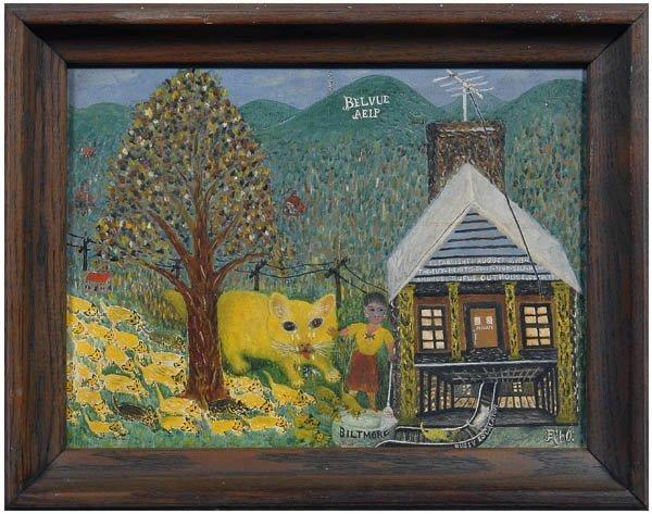 17: Folk art painting,