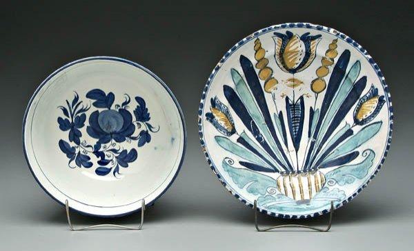 363: Two Delft bowls: