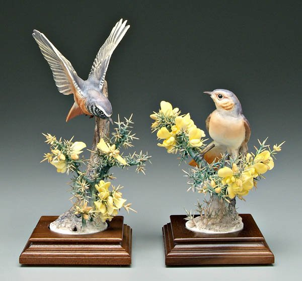 740: Two Doughty bird figurines: