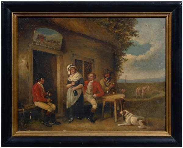 750: Painting, follower of George Morland,