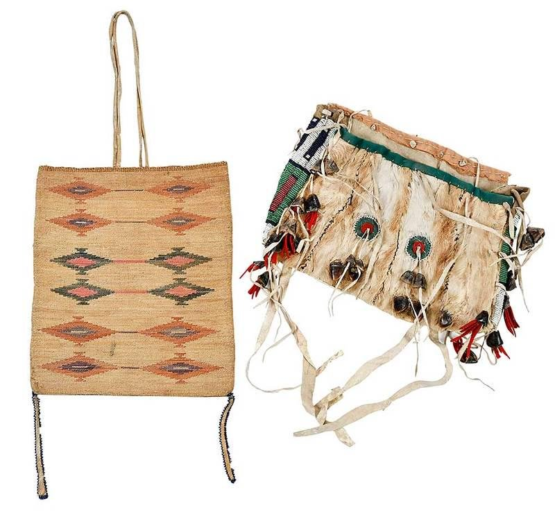 Two Northern Plains/Plateau Bags