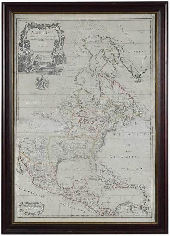 John Senex Map of North America