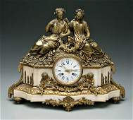 105: French Louis Philippe shelf clock,