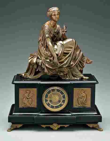 French classical shelf clock,
