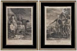 222: Washington, Lafayette portraits,