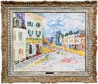 509: Serge Mendjisky painting