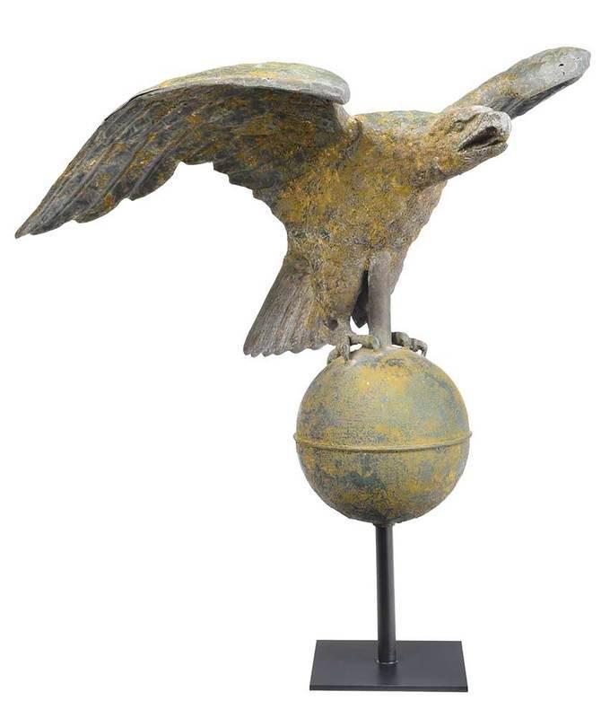 American Molded Copper Eagle Weathervane