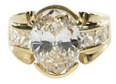 18kt. 4.28ct. Diamond Ring