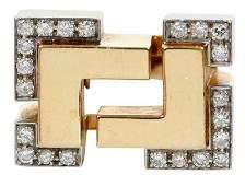 David Webb Platinum, 18kt., Diamond Ring