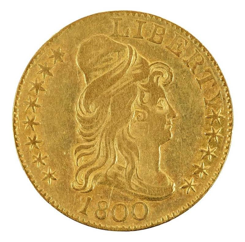 1800 U.S. Five Dollar Gold Coin