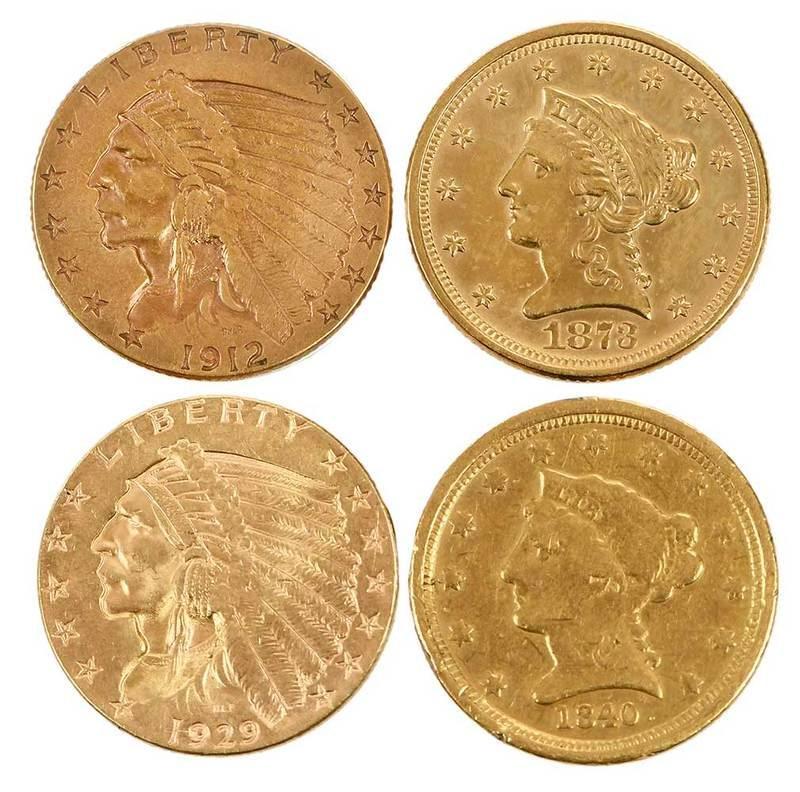 35 U.S. Gold Quarter Eagles