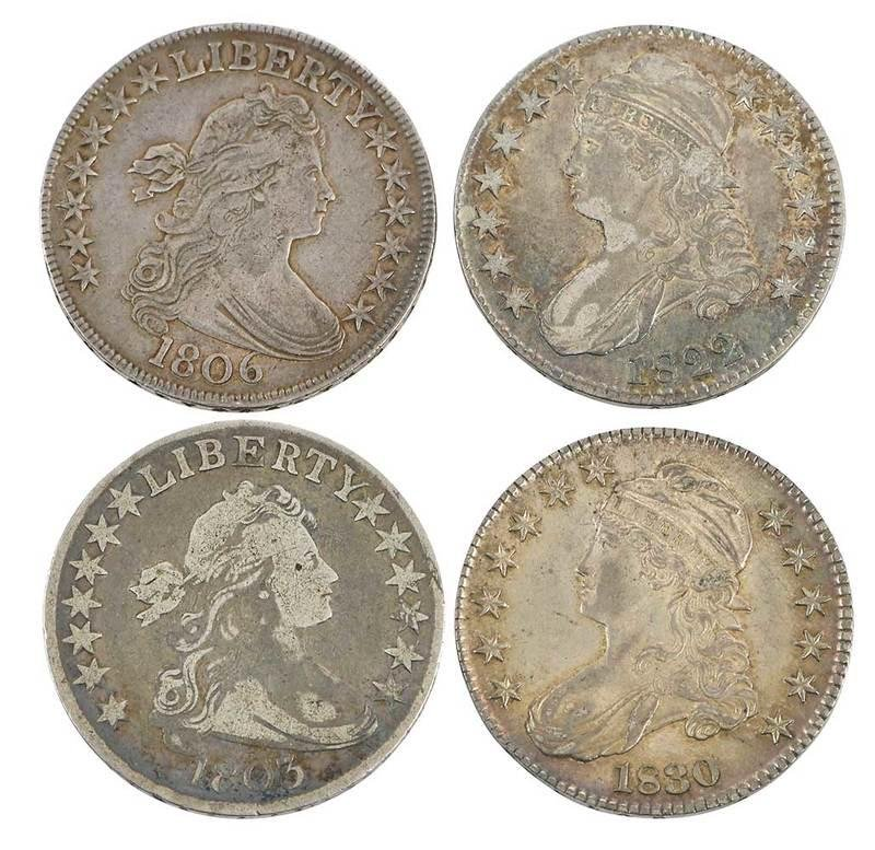 Group of U.S. Silver Half Dollars