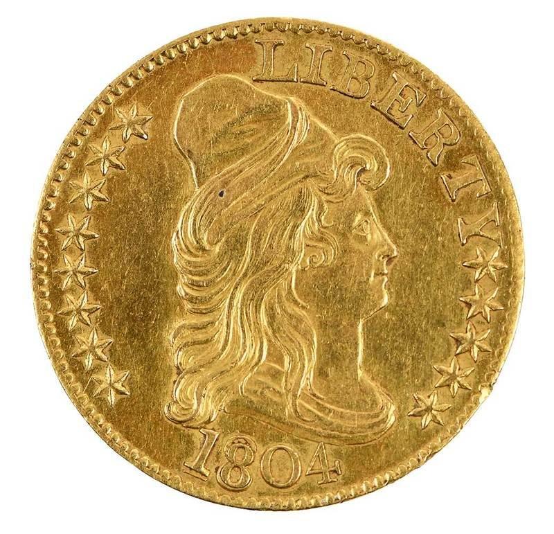 1804 U.S. Five Dollar Gold Coin