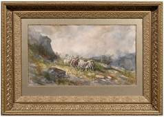 270: Hugo Anton Fisher watercolor