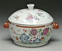 306 Chinese export lidded tureen