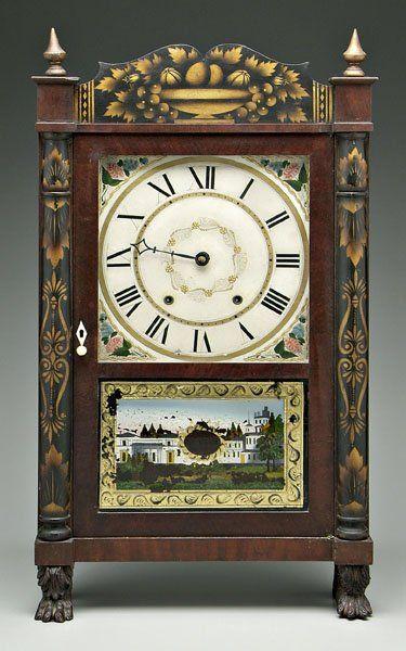 Eli Terry shelf clock,