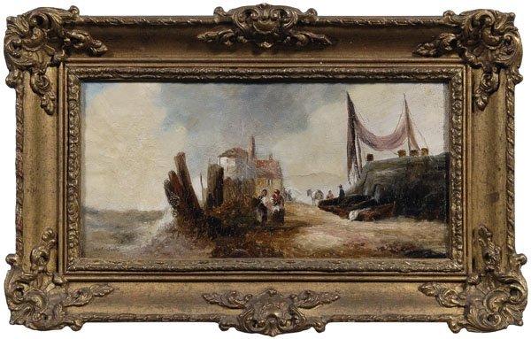 649: William J. Meadows painting
