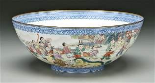 822 Chinese eggshell porcelain bowl