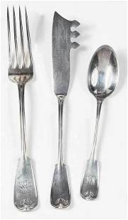 Tiffany Palm Sterling Flatware 12 Pieces