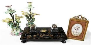 Four Decorative Table Items