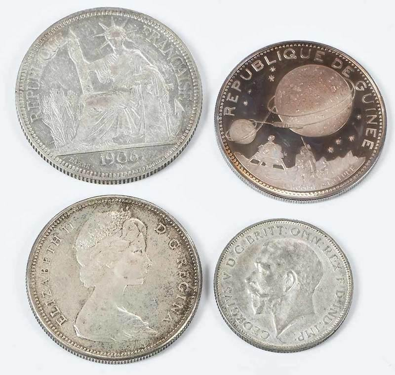 20th Century Silver Foreign Coin Group